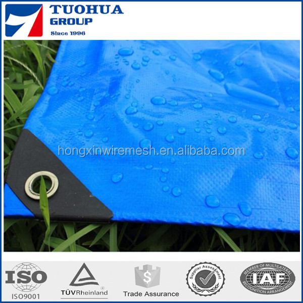 waterproof tarpaulin fabric of truck , fireproof pe plastic tarpaulin sheet