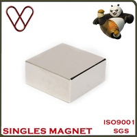 Block 40x40x20mm Super Strong N52 High Quality Rare Earth Neo Magnet Neodymium