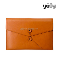 Classical envelope bag brown casual lady clutch bag