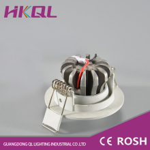 high quality 3w functional energy saving recessed led spotlight