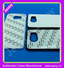 JESOY Blank Plastic Sublimation Phone Cases, Blanks For Samsung Galaxy S6 2D Sublimation Cell Phone Case