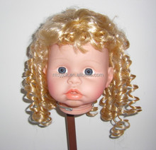 Wholesale small curly kanekalon doll wigs chinese manufacturer supplier