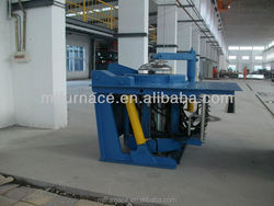 mini melting furnace for iron scrap machine for small business