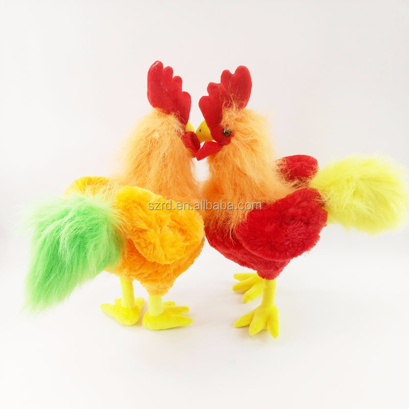 customised plush toy/lovely mini chicken plush toys/stuffed chicken pp cotton toys