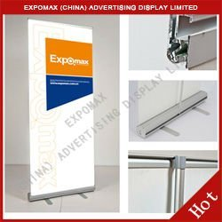 Hot ! Aluminium pull up banner display stand