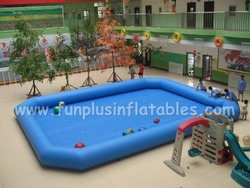 COOL!!!! inflatable water swimming pool,0.9mm PVC tarpaulin inflatable water pool for family,inflatable adult F9050