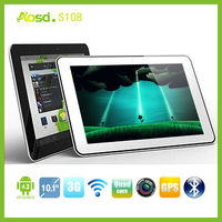 Factory price 10 inch ips screen android 4.2 MTK6589 dual sim card slot 3g tablet pc with calling function