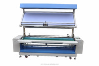 Automatic edge woven fabric inspection and rolling machine
