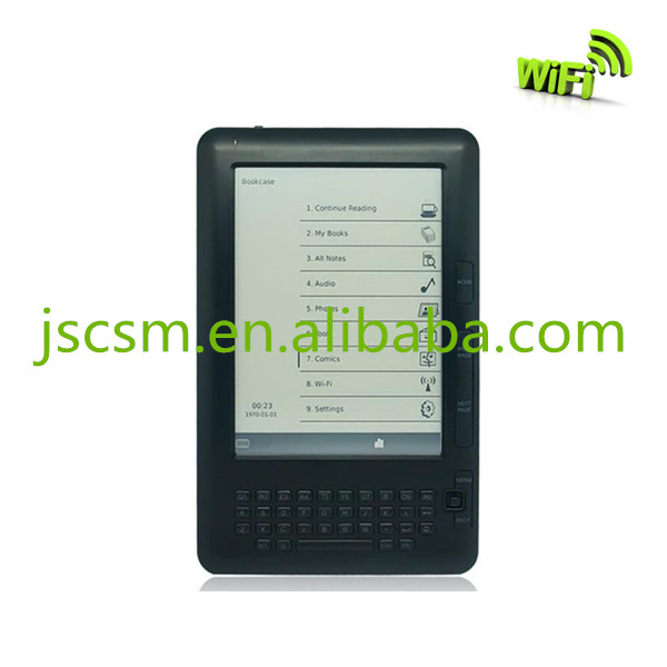 6 inch e-ink ebook reader with beautiful appearance and high quality for a cheap price