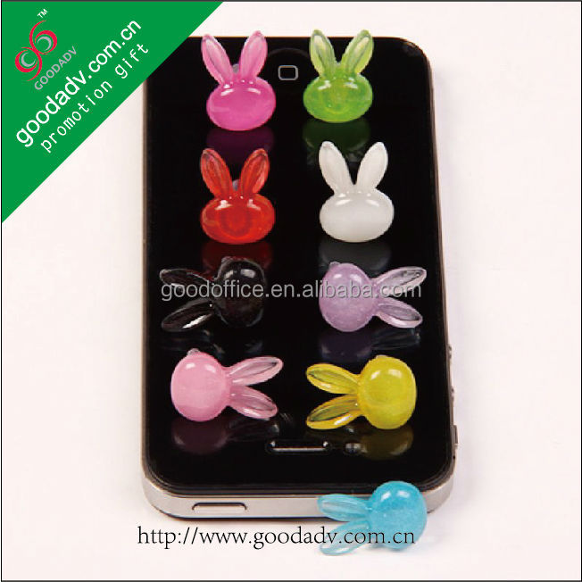 Guangzhou factory made colorfulPlugy Earphone Jack Accessory