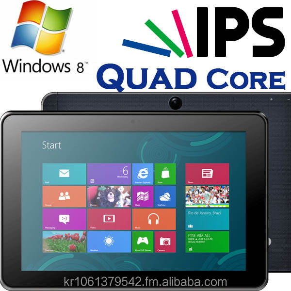 10 inches, Windows Tablet PC, Intel Qual Core CPU, IPS, OGS, 32GB+2GB, High Quality, Texttile Surface Back Case, Slim Tablet