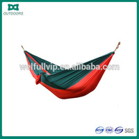 Wholesale Cheap Double Nylon Outdoor Camping Hanging Folding hammock tent