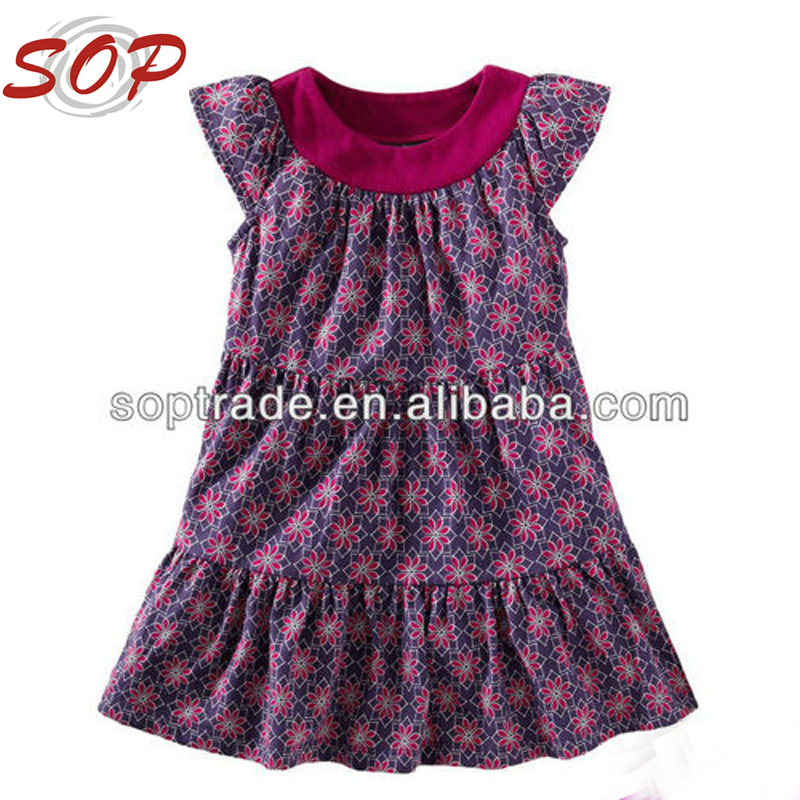 manufacturer 2 year old girl puffy mini dresses children girl dress