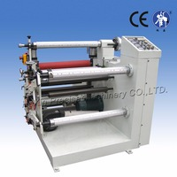 Automatic non woven fabric slitting and rewinding machine