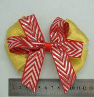 Fast delivery Cheap girl cotton hair bows hair decoration