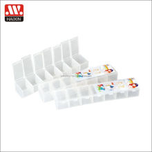 Monthly Pill Box Organizer Wholesale Free Sample Round Weekly decorative 7 Days Plastic Pill Box with lock