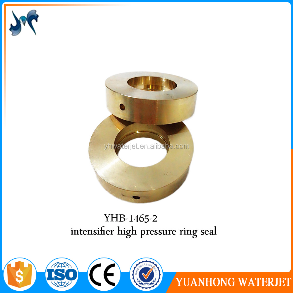 Yuanhong 60k intensifier pump spare parts high pressure back-up ring seal