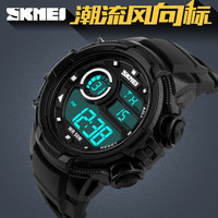 skmei manufacturer digital wristwatch light up watches with alarm sports watch