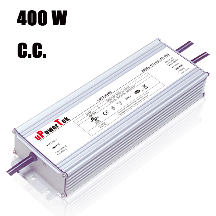 7 year warranty 400W constant current IP67 waterproof UL class P ENEC CB CE approved LED power supply for grow light