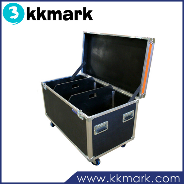 Large Utility Cable Case with Two Movable Dividers