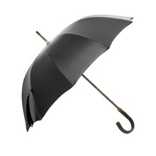 Durable Straight Automatic umbrellas with logo prints custom