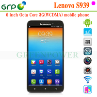 Brand New S939 Android 4.2 MT6592 Octa Core Built-in 3G 6 inch cdma gsm dual sim android smart phone with great price