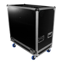 Portable DJ Speakers Flight Road Case With Casters