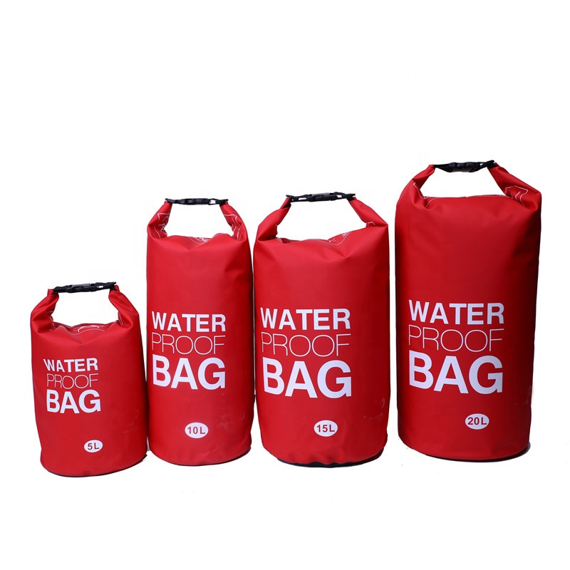Wholesale Custom Logo Waterproof Dry Bag with Roll Top Dry Compression PVC Sack