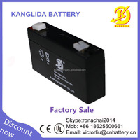 Deep cycle Sealed lead acid storage battery VRLA storage battery 6v1.3ah