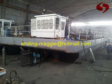 self propelled sand transportation barge with capacity 30-300ton