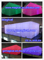 LED advertising event wedding party cube dome inflatable tent