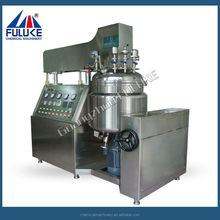Stainless steel high shear dispersing vacuum laboratory emulsifier mixer for Cosmetic cream