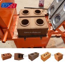 Small Scale Hollow Interlock Cement Brick Block Making Machine Price