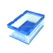reusable plastic material 36L clear Folding box