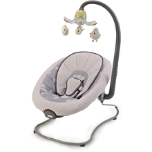 EN12790 standard New baby bouncer with electric toys and plastic shell seat