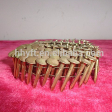 Pallet Wire Weld Screw Coil Nails galvanized coil roofing nails on hot sale