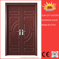 Big entrance door design made in china SC-P103