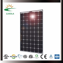 ZJSOLA cheap hot sale solar panel 260w mono CE TUV ISO cert.
