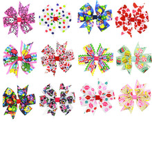 Boutique Baby Girl Ribbon Bows Clips Hairpin Girl's Butterfly Hairgrip Headware Kids Hair Accessories