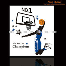 Play Basketball Wall Stickers Decal