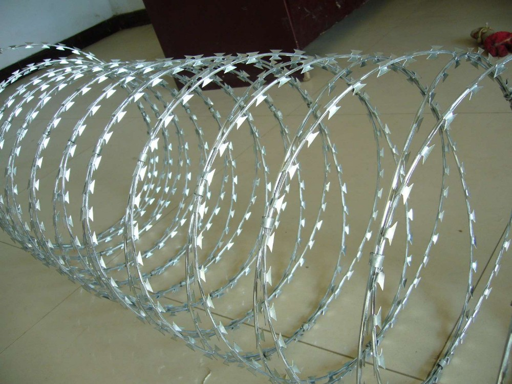 Electrical Galvanized Razor Wire