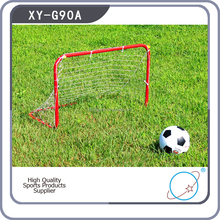 XY-G90A 90X70X50cm Mini Protable Red Kids Indoor Soccer Football Goal Post For Sale