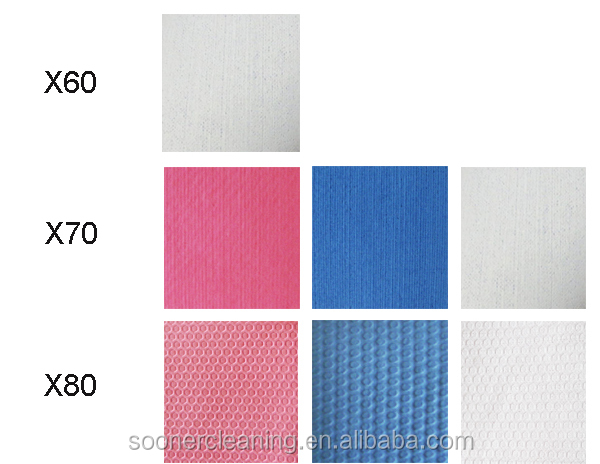 High quality cleaning wipes cellulose fabric for car polishing