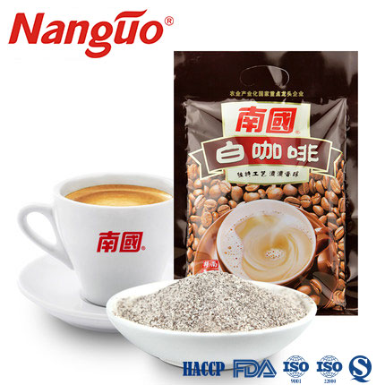 Solid beverage instant white <strong>coffee</strong> powder 3 in 1 340g