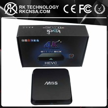 RK Full HD 1080P Sex Video Porn Video Player Android TV Box M8S S812 Hot Sale for Years