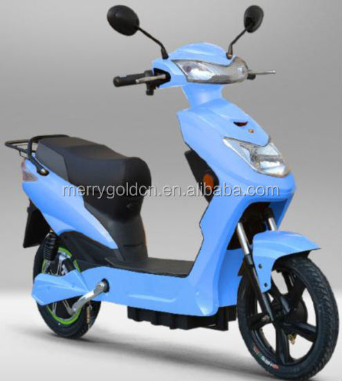 a blue chinese pizza custom golf electric scooter for sale