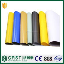 Make-to-Order Supply Type and PVC Coated Coated Type fire retardant tarpaulin for shutdown gas plant orange color