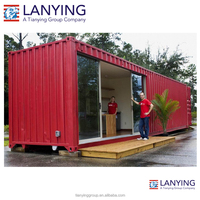 low price prefab shipping container homes, storage container / toilet container house / camp container