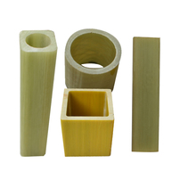 customized high strength pultruded Square fibreglass tube