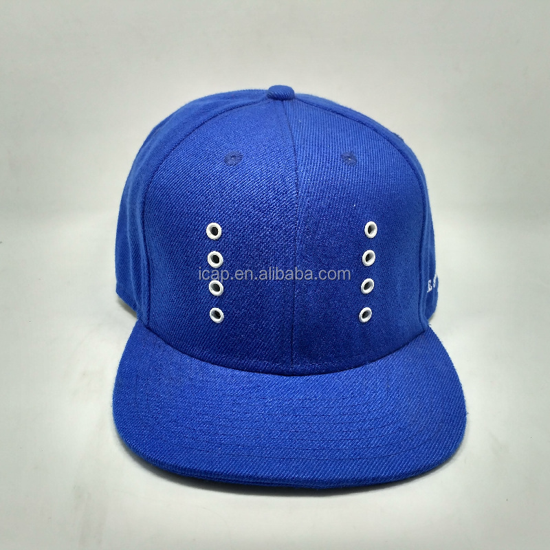 2016 new design custom snapback hat/Metal corns snapback hat and cap/flat bill snapback hats